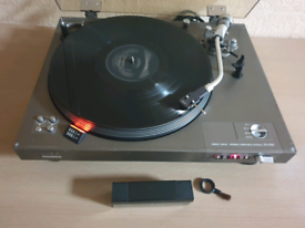 Sony ps-4300 direct drive fully automatic turntable. Condition is Used