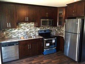 soft closing solid maple kitchen cabinets