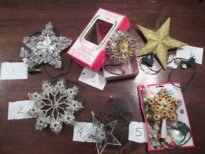 Assorted Christmas STARS & Decorations!