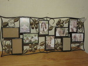 Beautiful Metal Picture Frame for 10 photos West Island Greater Montréal image 1