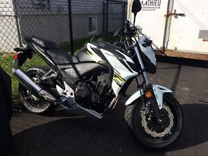 Moto CB500F (43hp)