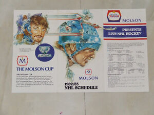 1982-'83 National Hockey League schedule