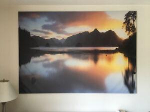 "Ikea Premiär Sunset Stillness (78 3/4"" x 55"")"