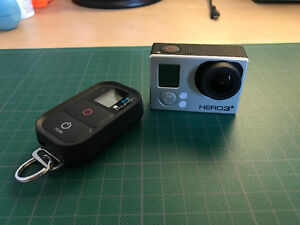 GoPro Hero 3+ Black with Accesories (Mint Condition)