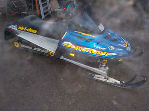 SKIDOO SUMMIT 500 L/C 1999 SNOWMOBILE FOR SALE Prince George British Columbia image 3