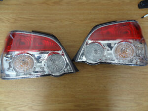 2003-2007-V9-JDM-Subaru-Impreza-WRX-STI OEM Tail Light pair