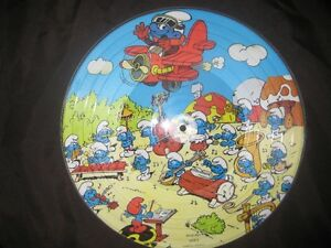 SMURFS PICTURE DISC