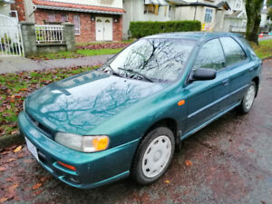 1998 Subaru Impreza AWD, Low kms, Quick Sale!