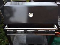 Beefeater 4 Burner Family BBQ + Gas Bottle (and gas), and cover
