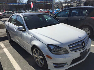 2012 Mercedes-Benz C-Class AMG package premium package Sedan