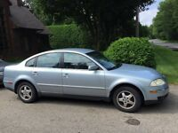 2001 Volkswagon Passat  fully equipped automatic mags no rust