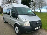 Ford Transit T350 3.5t 14 Seater Minibus 135ps RWD, 1 Owner, Lovely Clean Bus