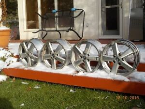 Used Alloy Wheels - use them for your snow tires