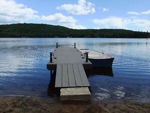 Chalet à louer sur le bord d'un lac à l'Ascension!