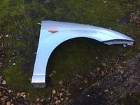 Ford Focus mk1 Drivers front wing moondust silver