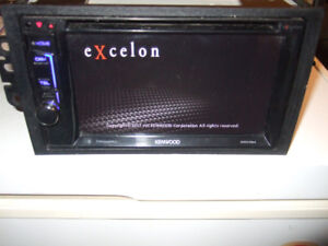 """6.2"""" Kenwood Excelon Bluetooth Receiver with GM Interface"""