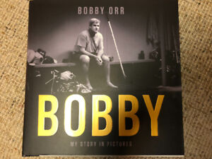 Bobby Orr Autographed NHL Book 2018