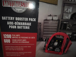 Battery booster, Charger