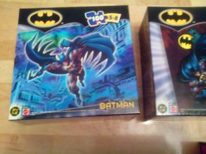 Six never opened DC Comics puzzles. $15 for the lot.