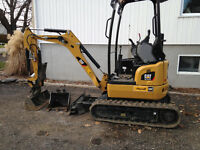 Mini-excavatrice 301.7D CR