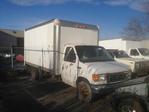 2006 Ford E-Series Cube van