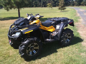 2012 Can-Am XMR 800R Low Kms