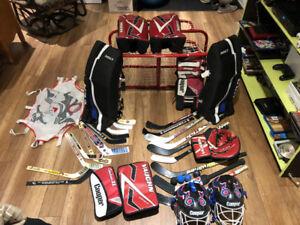 Ensemble de mini hockey