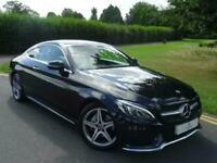2018 Mercedes-Benz C Class C220d AMG Line Premium 2dr Auto COUPE Diesel Automati