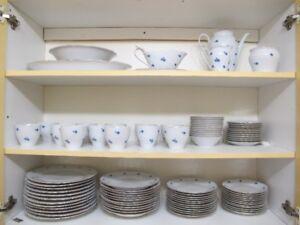 Set de vaisselle FISHER-CHINA des année 50.