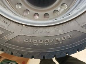 GOODYEAR NORDIC WINTER TIRE 225/60R17