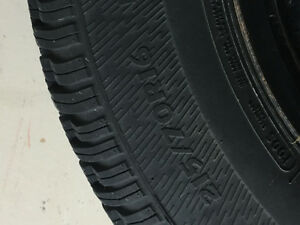 Winter tires and rims 215/70/r16