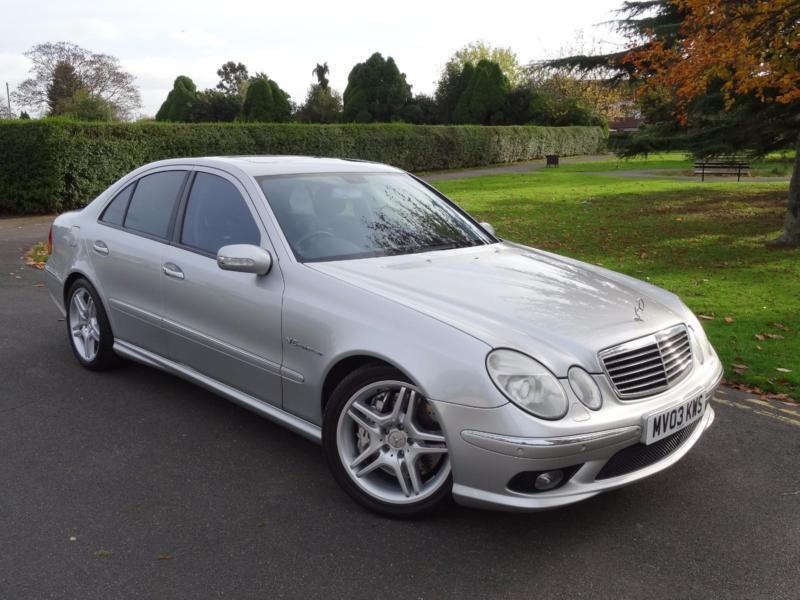 mercedes e class 5 4 e55 amg 2003 03 in redbridge. Black Bedroom Furniture Sets. Home Design Ideas