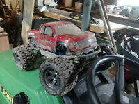 Traxxas Stampede 4x4 RC with For Raptor Body and Steel Axles
