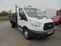 Ford Transit 350 L2 SINGLE CAB TIPPER 100PS EURO 5 DIESEL MANUAL WHITE (2016)