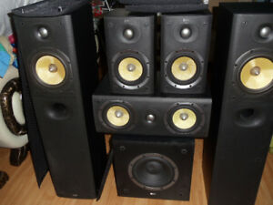 B&W series  dm 602 s3 set of 6 speaker