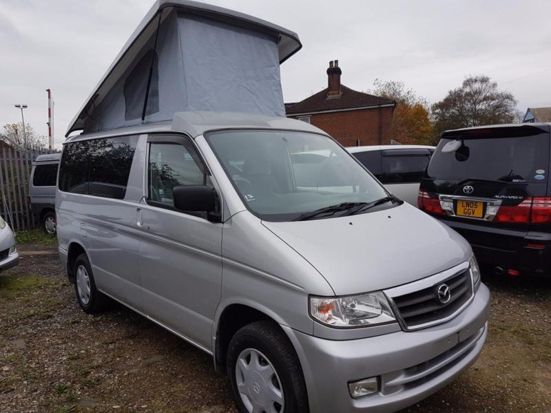 MAZDA BONGO WITH POP TOP ROOF, 2004, 54,189 MILES, PETROL, 8 SEATER, AUTOMATIC