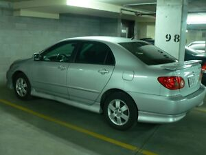 2005 Toyota Corolla s model Sedan