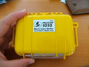 Small waterproof Pelican case (brand new)