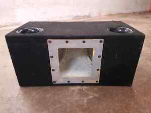 Subwoofer box for 2 12 inch subs