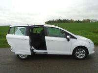 2013/63 FORD B-MAX 1.6 ZETEC POWERSHIFT AUTO 5DR WHITE - PERFECT FAMILY CAR!