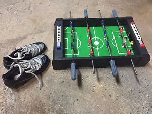 YOUTH - Nike Total Ninety Soccer Cleats+Mini Soccer Table