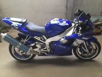 2001 Yamaha R1 only 11,800 miles 5JJ Not R6