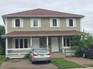 Large 3 level Side by Side Duplex for rent - available Sept.1
