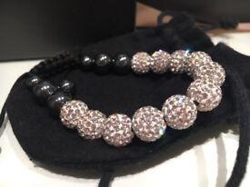 Rox white crystal bracelet