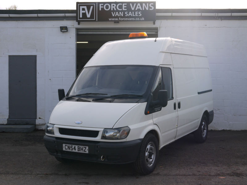 FORD TRANSIT 330 2.0 MWB HIGH TOP PANEL DELIVERY LOGISTICS DAY VAN