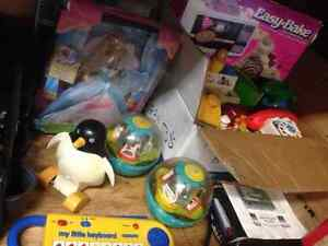 Various collectible toys