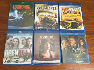 New! Assorted Blu Ray movies