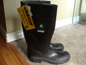 BAFFIN NEW MEN'S STEEL TOE BOOTS - SIZE 10