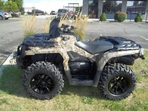 2016 Can-Am Outlander XT 850 Mossy Oak Break-Up Country Camo