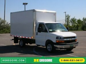 "2016 Chevrolet Express 3500 CUBE 139"" ROUE SIMPLE"